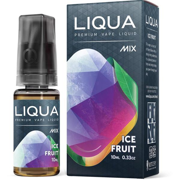 LIQUA Ice Fruit - Nikotinfreies eLiquid für e-Zigaretten und e-Shishas