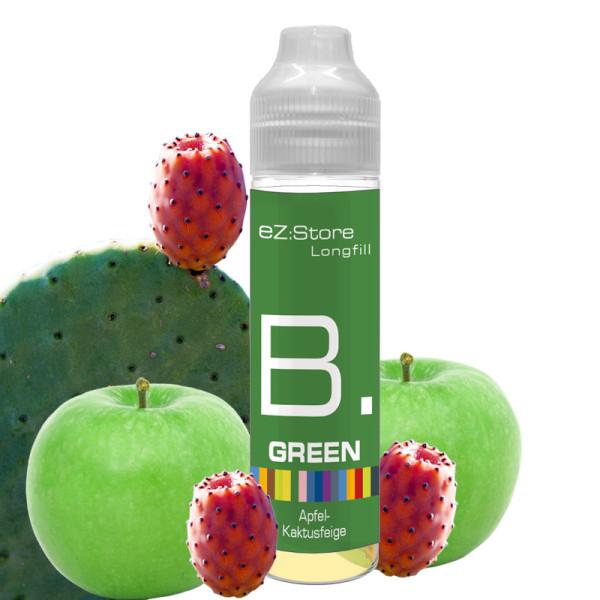 B. Green
