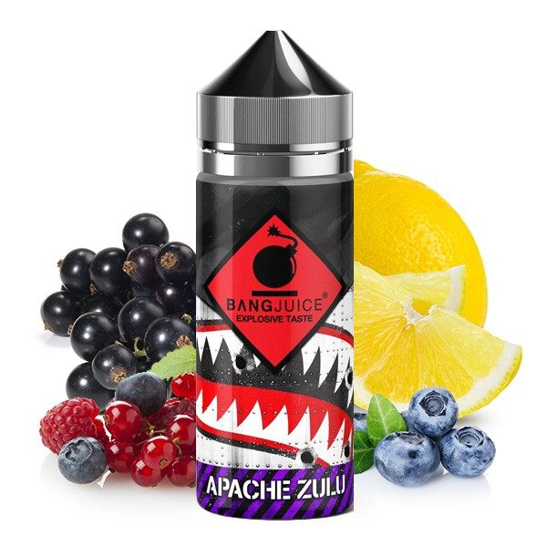 Bang Juice Division Apache Zulu Aroma Longfill