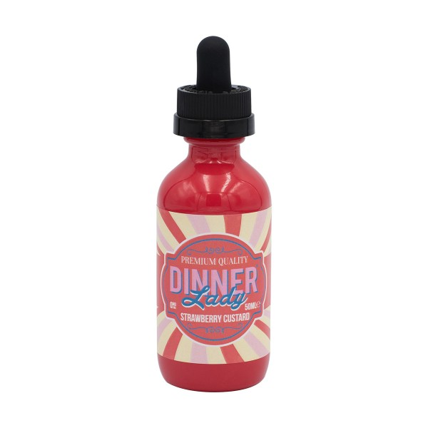 Dinner Lady Strawberry Custard 50 ml