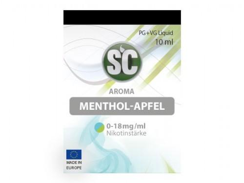 SC Liquid Apfel-Menthol
