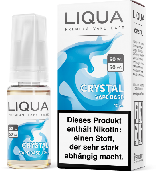 Liqua Crystal 18mg Nic Shot 10ml