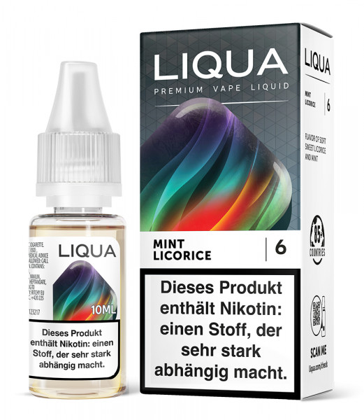 LIQUA Mint Licorice