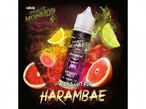 Twelve Monkeys Harambae 50 ml