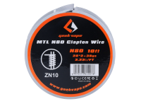 Geek Vape NI80 Wickeldraht Clapton 28GA 30ft ZN10