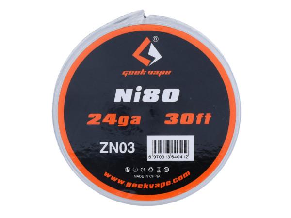 Geek Vape NI80 Wire 24/26/28GA Wickeldraht