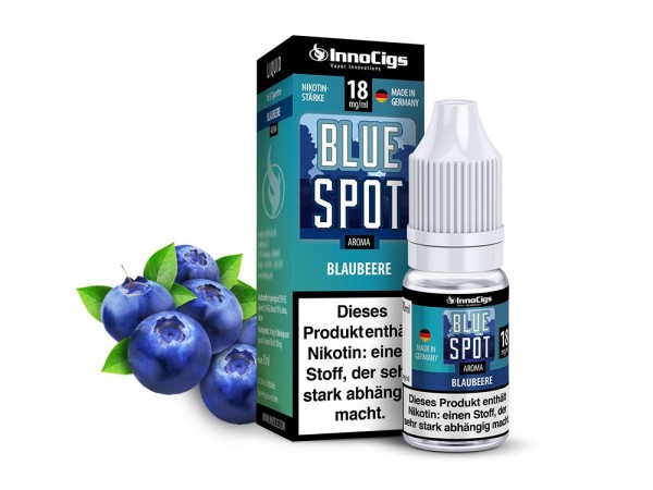 InnoCigs Liquid Blaubeere (Blue Spot)
