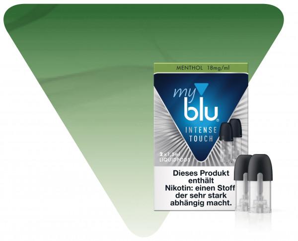 myBlu Pod Intense Touch Menthol 2er Pack