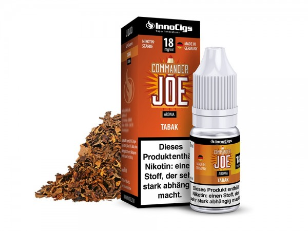 InnoCigs Liquid Tabak (Commander Joe)