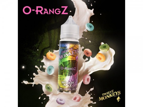 O-RangZ 50 ml 0 mg DIY Liquid