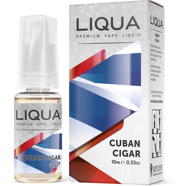 LIQUA Cuban Cigar - Nikotinfreies eLiquid für e-Zigaretten und e-Shishas