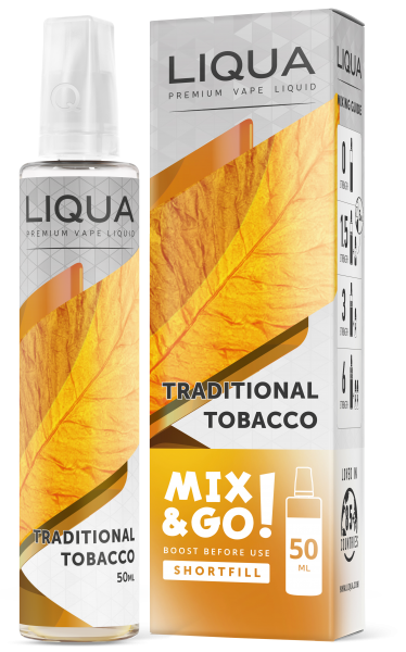 Liqua Mix&Go Traditional Tabacco 50 ml