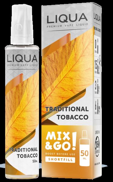 LIQUA Mix&Go Traditional Tabacco 50 ml