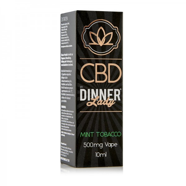 Dinner Lady Mint Tabacco CBD 10 ml