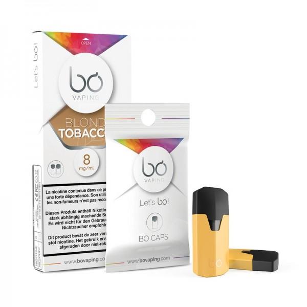 BO Vaping Cap Blond Tobacco/MI5 2er Pack