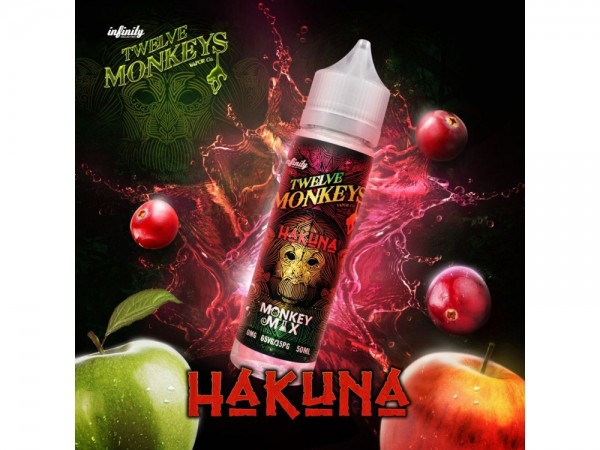 Hakuna 50 ml 0 mg DIY Liquid