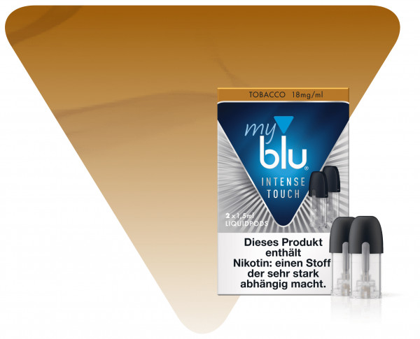 myBlu Pod Intense Touch Tobacco 2er Pack
