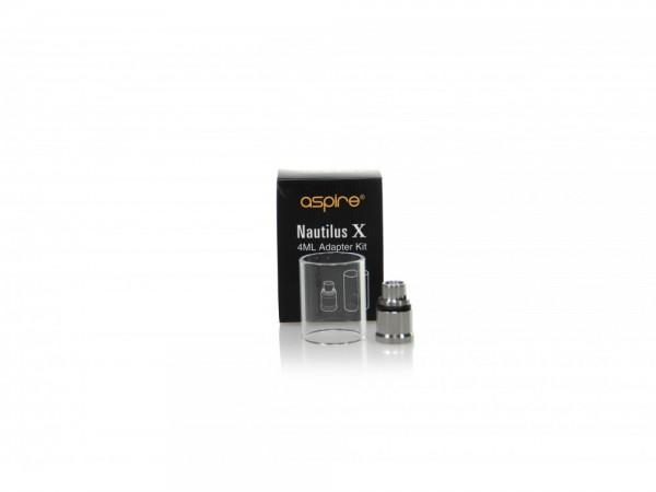 Nautilus X Ersatzglas 4ml mit Adapter