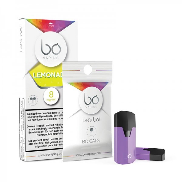 BO Vaping Cap Lemonade 2er Pack