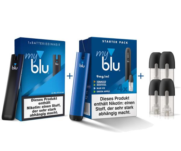 myBlu Starterkit mixed Color Edition 9 mg