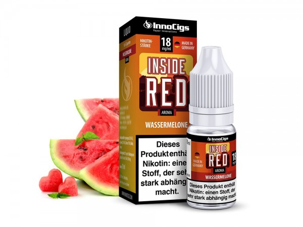 InnoCigs Liquid Wassermelone (Inside Red)